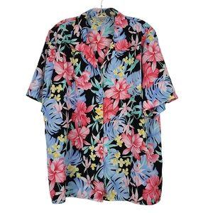 Allison Daley Beautiful Floral Button up Blouse